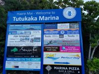 You may have noticed new signage around Tutukaka and Tutukaka Marina. Hopefully visitors and locals alike will enjoy the new look.